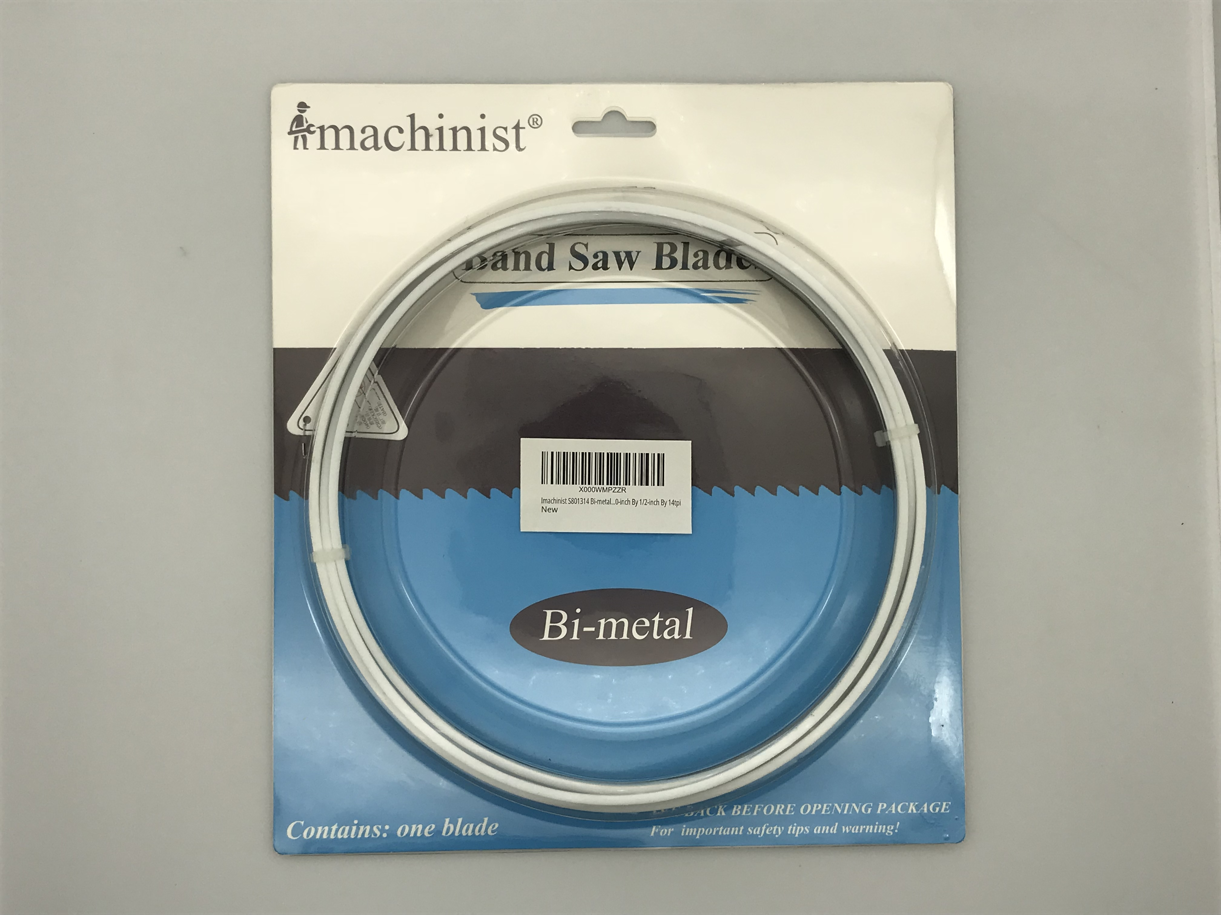 Imachinist S801314 Bi-metal Band Saw Blades 80-inch By 1//2-inch By 14tpi