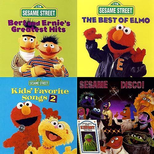 Bedtime with Sesame Street by Sesame Street, Wolfgang, Ernie
