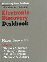 Electronic Discovery Deskbook (Litigation Law Library)