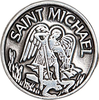 Cathedral Art PT409 Saint Michael Pocket Token, 1-Inch