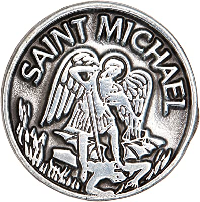 Cathedral Art Saint Michael (Abbey & CA Gift) Pocket Token, 1-Inch, One Size