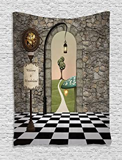 alice in wonderland room