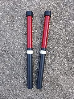 KaKesa Steel Drum Pan Mallets Sticks Wood Trini - Lead/Tenor