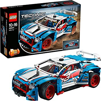 LEGO- Technic Auto da Rally, Multicolore, 42077