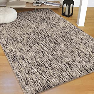 Orian Rugs Super Shag Collection 392234 Multi-Solid Area Rug, 7'10