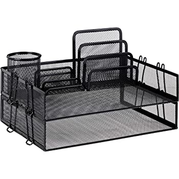 AmazonBasics Mesh Desk Organizer Bundle