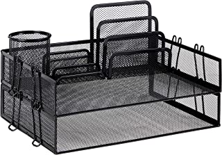 AmazonBasics Mesh Desk Organizer Bundle photo