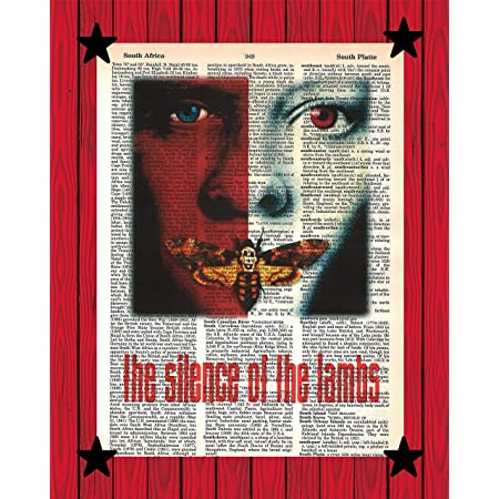 silence of the lambs Poster Fabric 8x12 20x30 24x36 E-1739