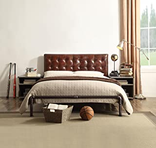 Amazon.com: Leather - Bedroom Sets / Bedroom Furniture: Home ...