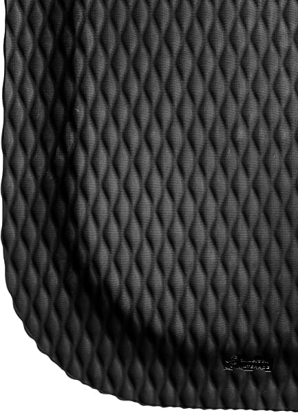 M A Matting 421 Nitrile Rubber Hog Heaven Anti Fatigue Mat With Black Border 5 Length X 3 Width X 5 8 Thick For Dry Areas