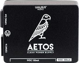 Walrus Audio Aetos 8 Output 120 Volt Power Supply, Limited Edition Black New Artwork