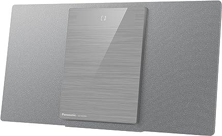 Panasonic SC-HC400EG-S - Microcadena (40 W, Bluetooth, Sonido Hi-Fi, USB, MP3) Color Plata