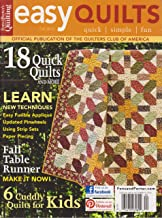 Fons & Porter's Easy Quilts Magazine Fall 2012 (18 Quick Quilts and more)