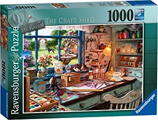 Ravensburger - My Haven No 1 The Craft Shed 1000 Piece Puzzle
