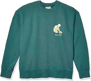 Nudie Men's Lukas Solid Logo Boy Sweatshirt