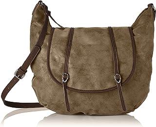Tamaris Damen Emily Big Crossover Bag Umhängetaschen, 45x30x5 cm