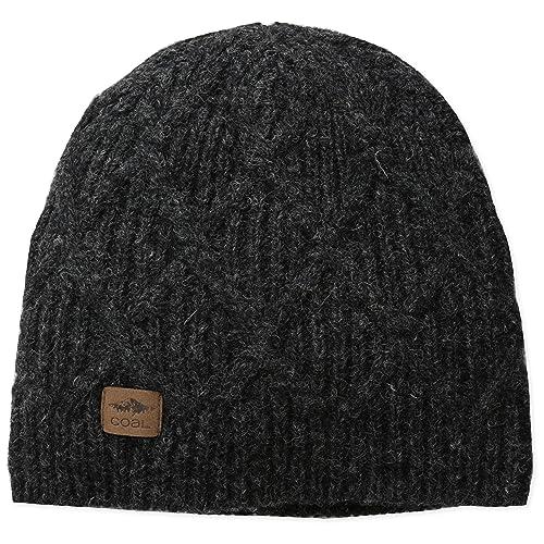 55eb37da7cf Coal Men s The Yukon Chunky Knit Warm Beanie Hat