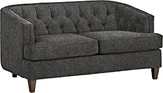 Stone & Beam Leila Tufted Living Room Loveseat Sofa Couch, 69