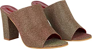 Do Bhai Women Embellished Block Heels For Women