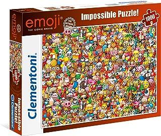 Clementoni - 39388 - Puzzle - Impossible Emoji - 1000 Pièces