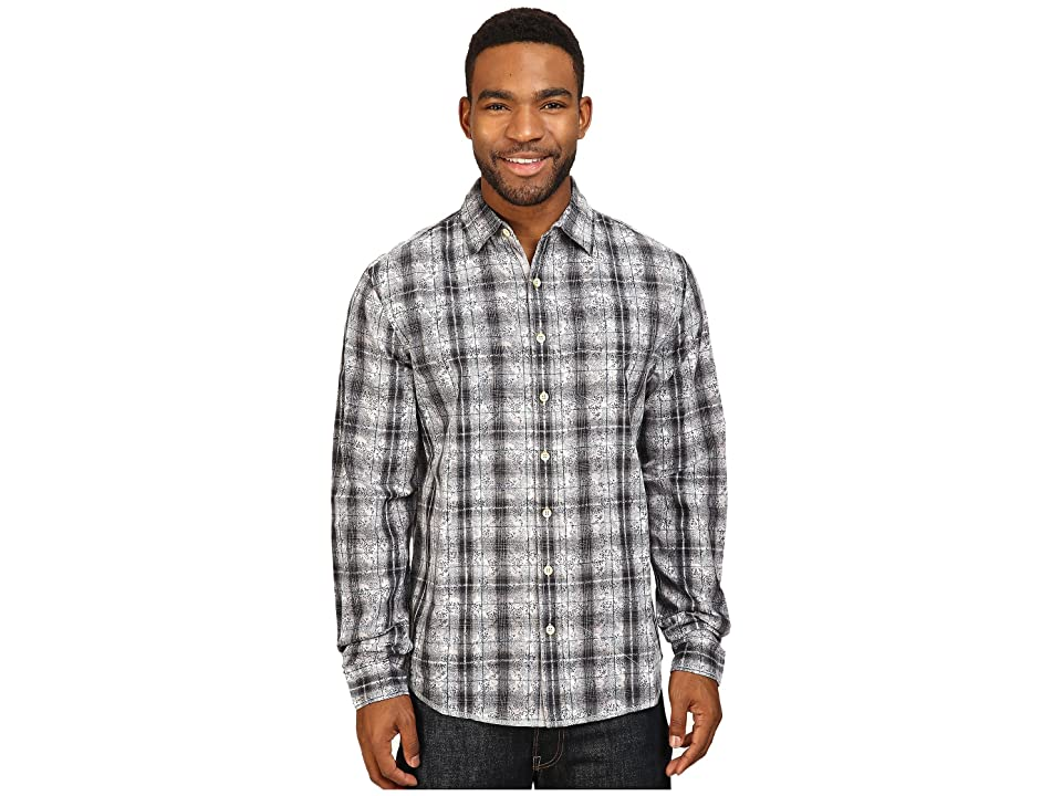 Ecoths Lawson Long Sleeve Shirt (Black) Men
