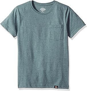 Dickies Boys Slim Fit Lightweight Tee Short Sleeve T-Shirt - Blue - X-Large