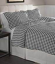 Pointehaven Flannel Oversized Duvet Set, Full/Queen, Milton