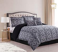 SL Spirit Linen Home EST. 1988 Paisley Collection Comforter Set - Oversized Reversible Bedding, Wrinkle Resistant & Pre -...
