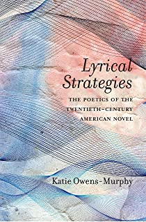 Lyrical Strategies: The Poetics of the Twentieth-Century American Novel