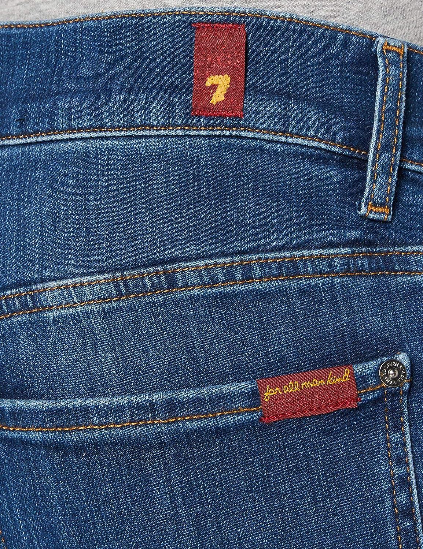 7 For All Mankind Skinny Jeans Homme Bleu Foncé
