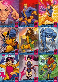 FLEER ULTRA X-MEN 2018 UPPER DECK X-MEN '92 INSERT CHASE CARD SET OF X1 - X10 MARVEL