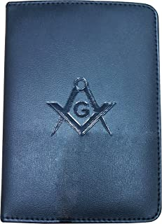 California Masonic Cipher Ritual Book Cover in Faux Leather with SC&G