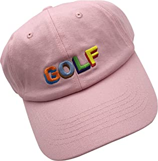 wuxianyong Golf Dad Hat Baseball Cap 3D Embroidered Adjustable Snapback Unisex