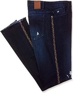 Spykar Women's Casual Slim Jeans (WACT-01AG-38_MID_Blue_30)
