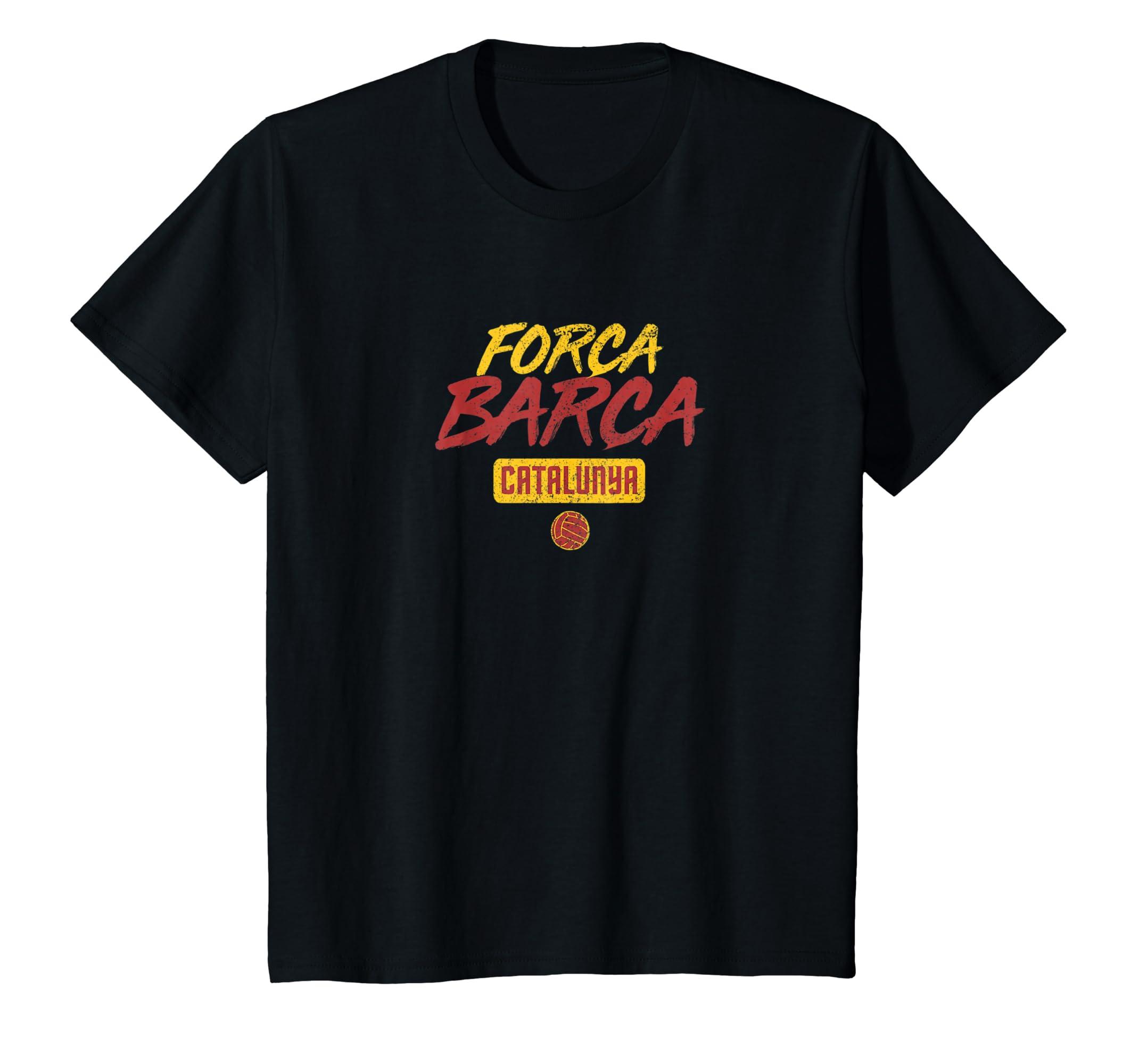 bb596895d17dac Barcelona fan shirt forca barca fan tee clothing png 2140x2000 Forca barca  font