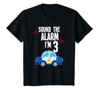 Amazon.com: Kids Boys Sonar la alarma 3rd Fiesta de ...