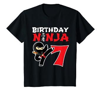 Amazon.com: Camiseta de cumpleaños para niños, diseño de ...