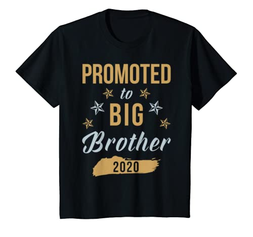 Kids Big Brother Shirt   Promoted To Big Brother 2020 T Shirt
