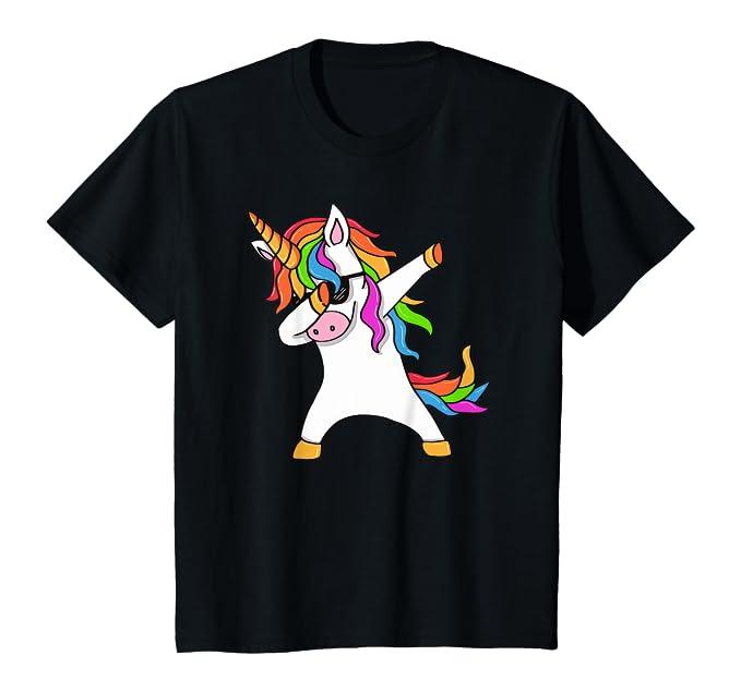 Dabbing-Unicorn-T-Shirt