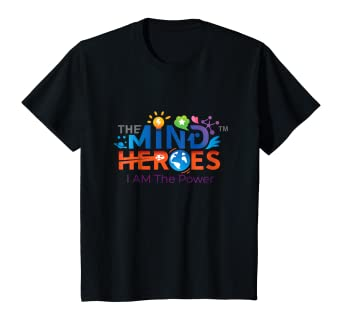 Kids The Mind Heroes I AM The Power youth t-shirt