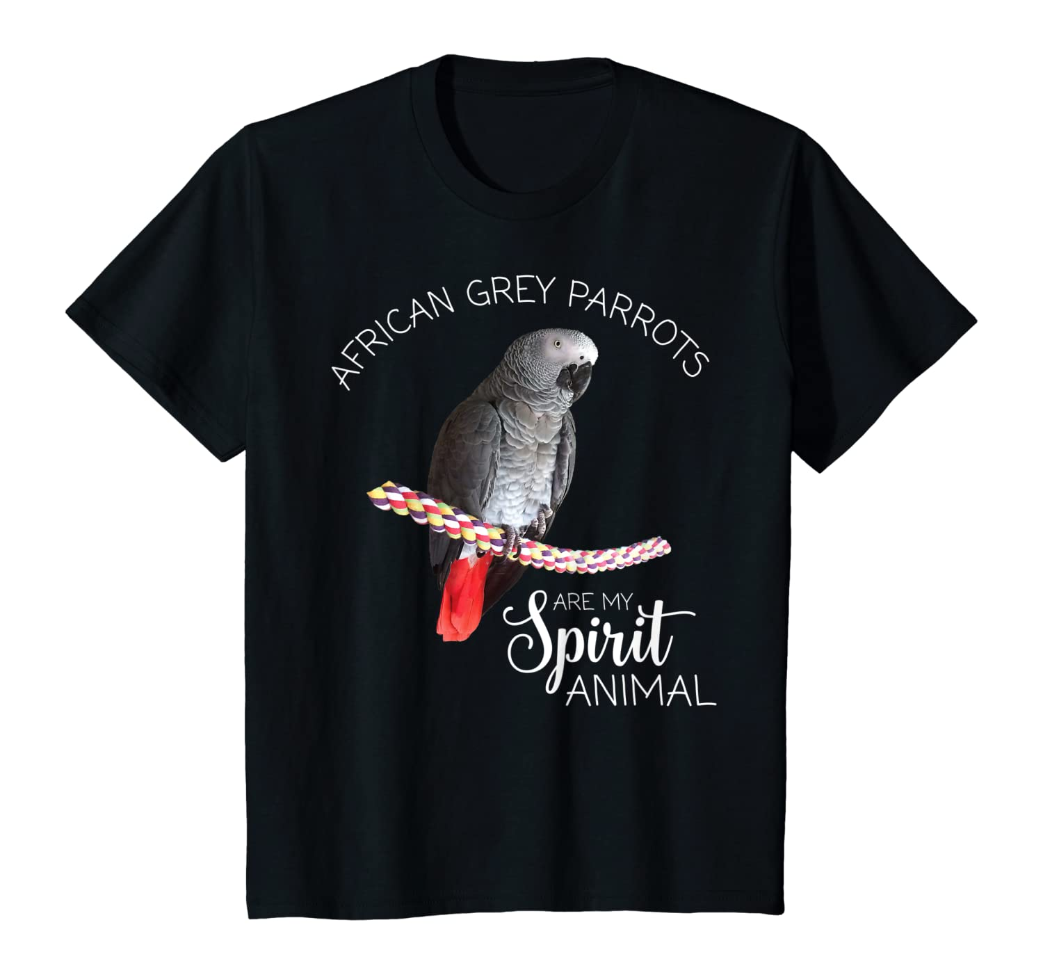 African Grey Parrots are my Spirit Animal T-Shirt Youth