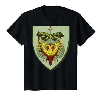 Amazon Com Kids Harry Potter Durmstrang Shield T Shirt Clothing Battle of hogwarts took place because harry and gang returned to hogwarts to find the horcrux. kids harry potter durmstrang shield t