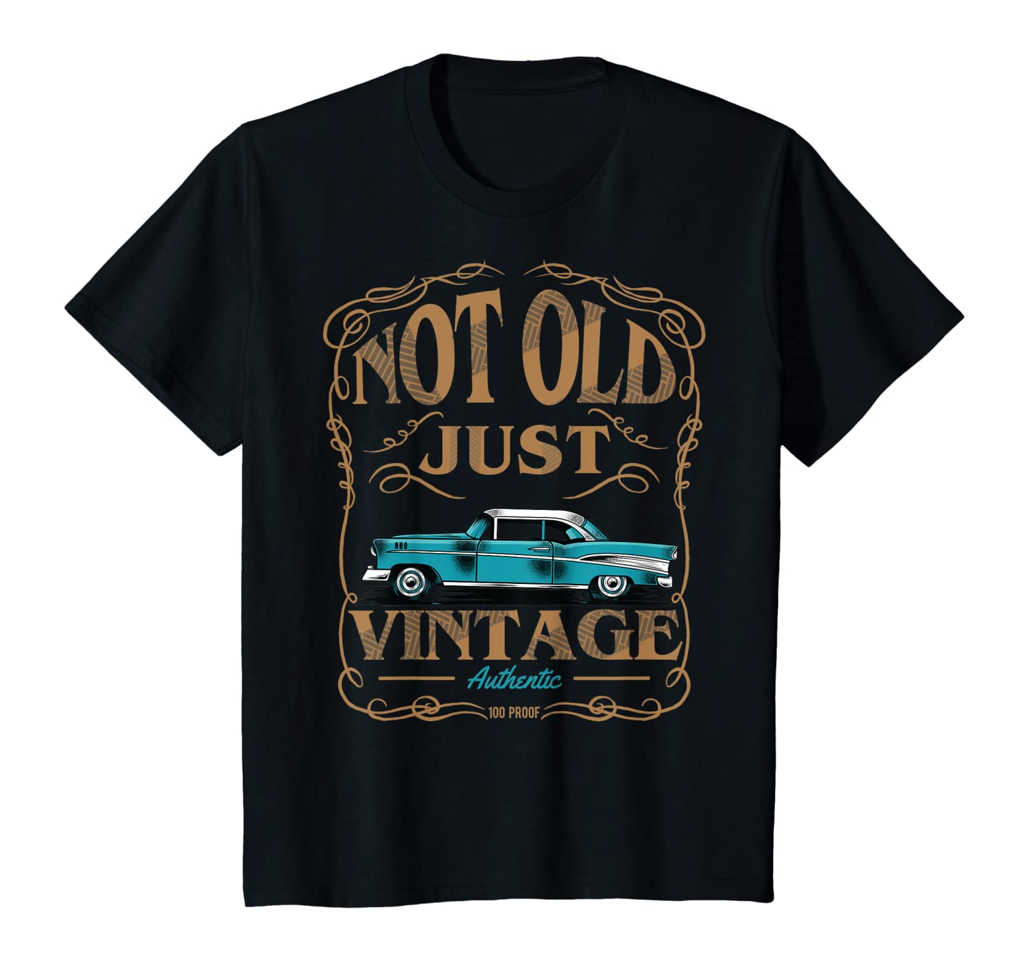 Amazon.com: Not Old Just Vintage American Classic Car Birthday Tshirt:  Clothing