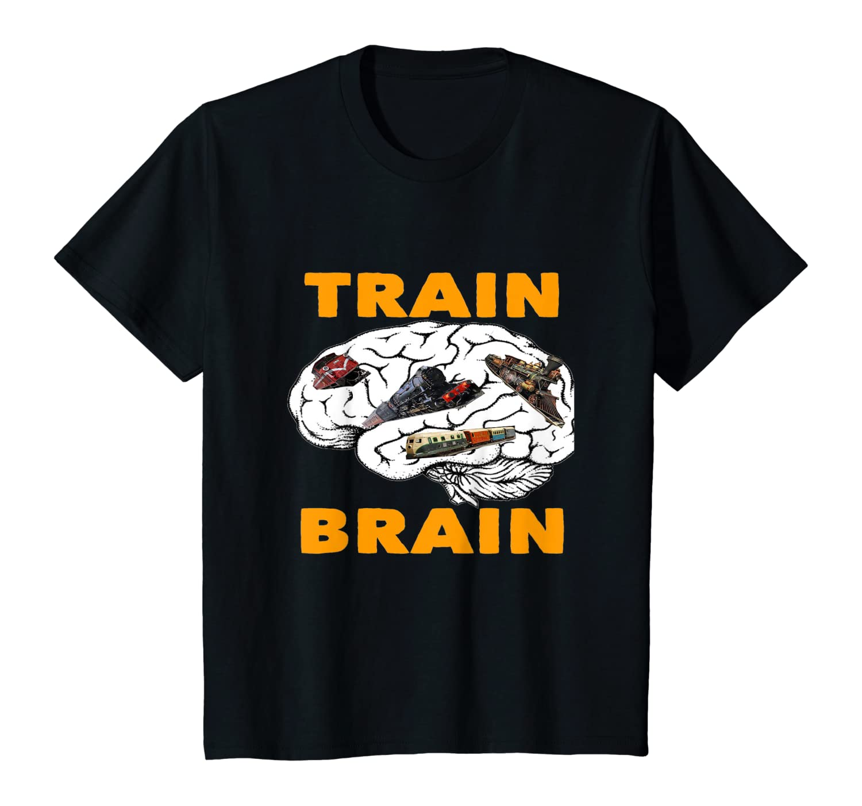 Train Brain T-Shirt Youth