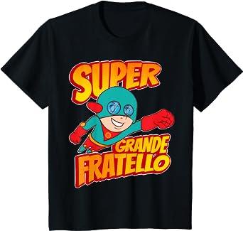 Bambino Super Awesome Superhero Miglior Grande Fratello Maglietta