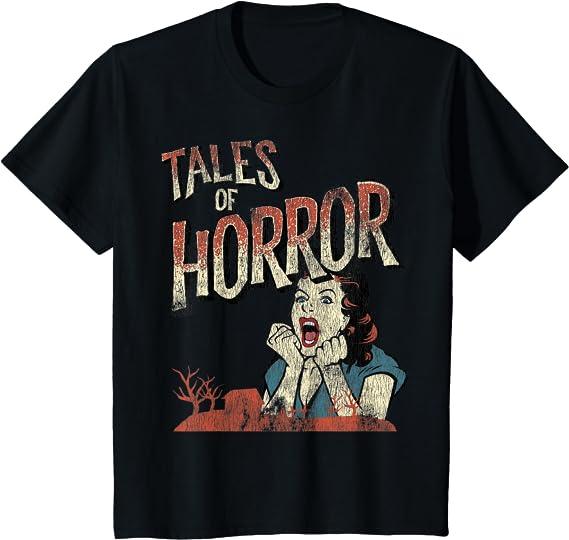 halloween Movie Poster T Shirt Classic Horror Film Casual Friday retro slasher