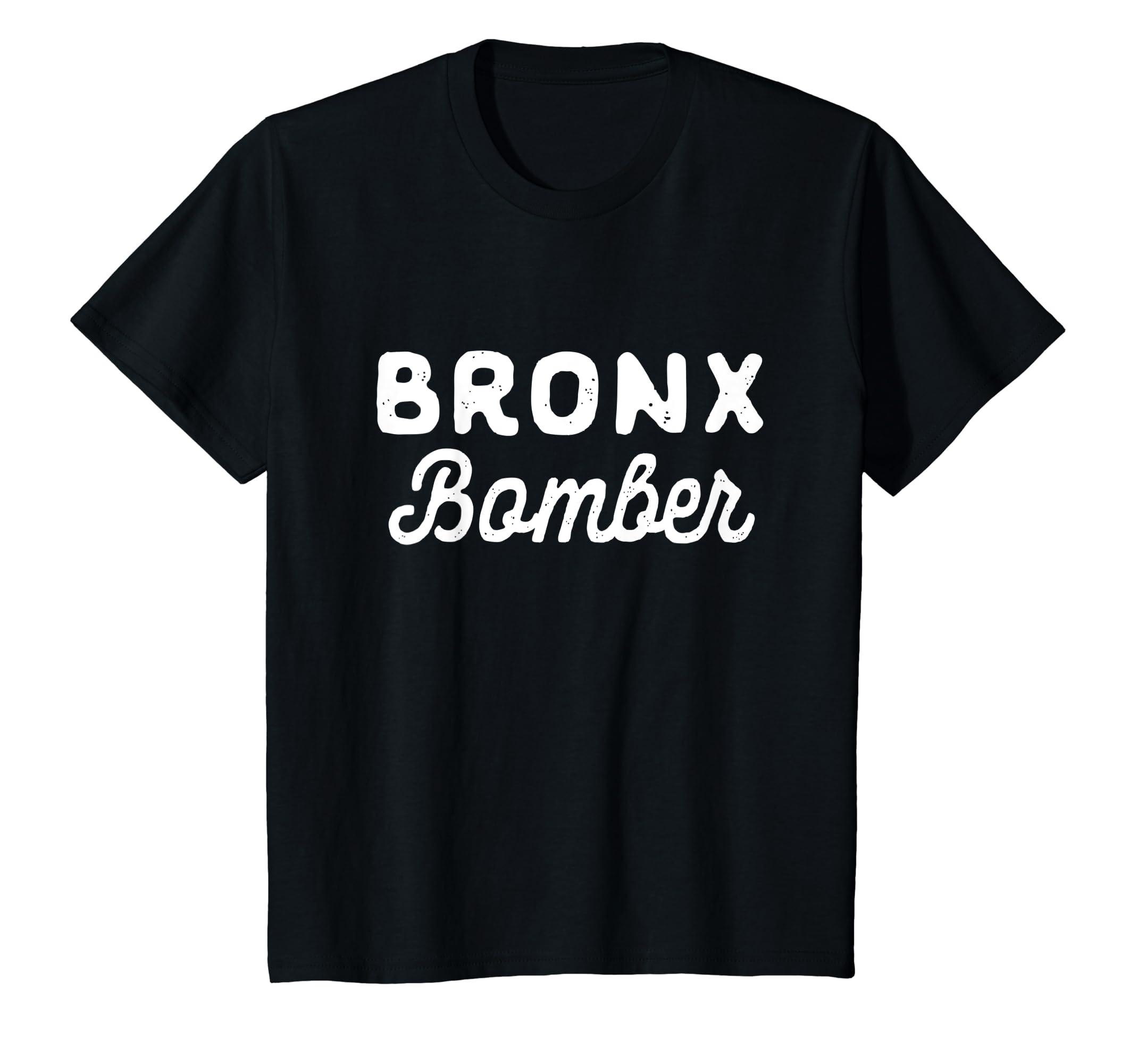 Amazon.com  Bronx Bomber T-shirt  Clothing 9fd4569776f