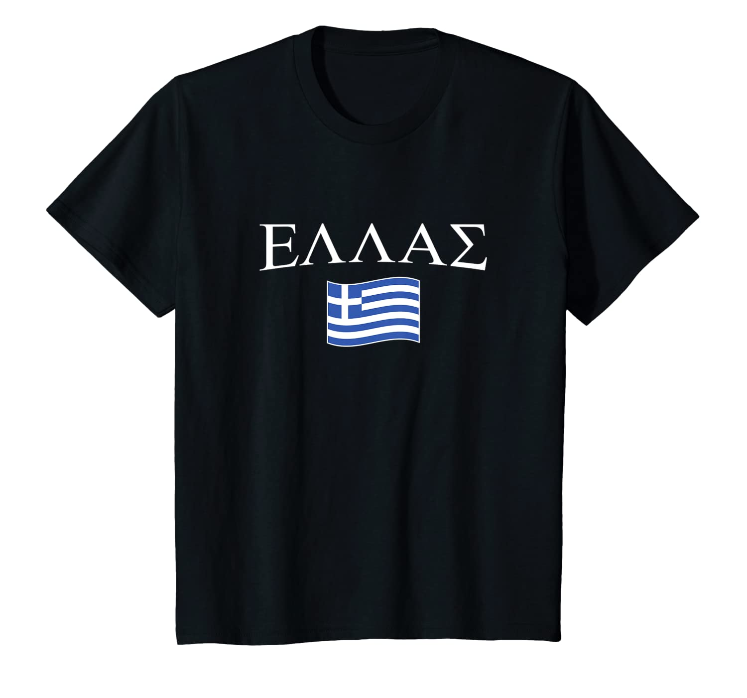 Greek Flag Ellas T-Shirt