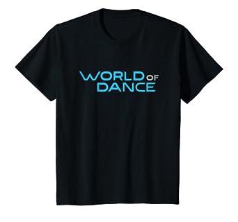 Amazon.com  Kids World of Dance Official T-Shirt  Clothing 66cdad27b8