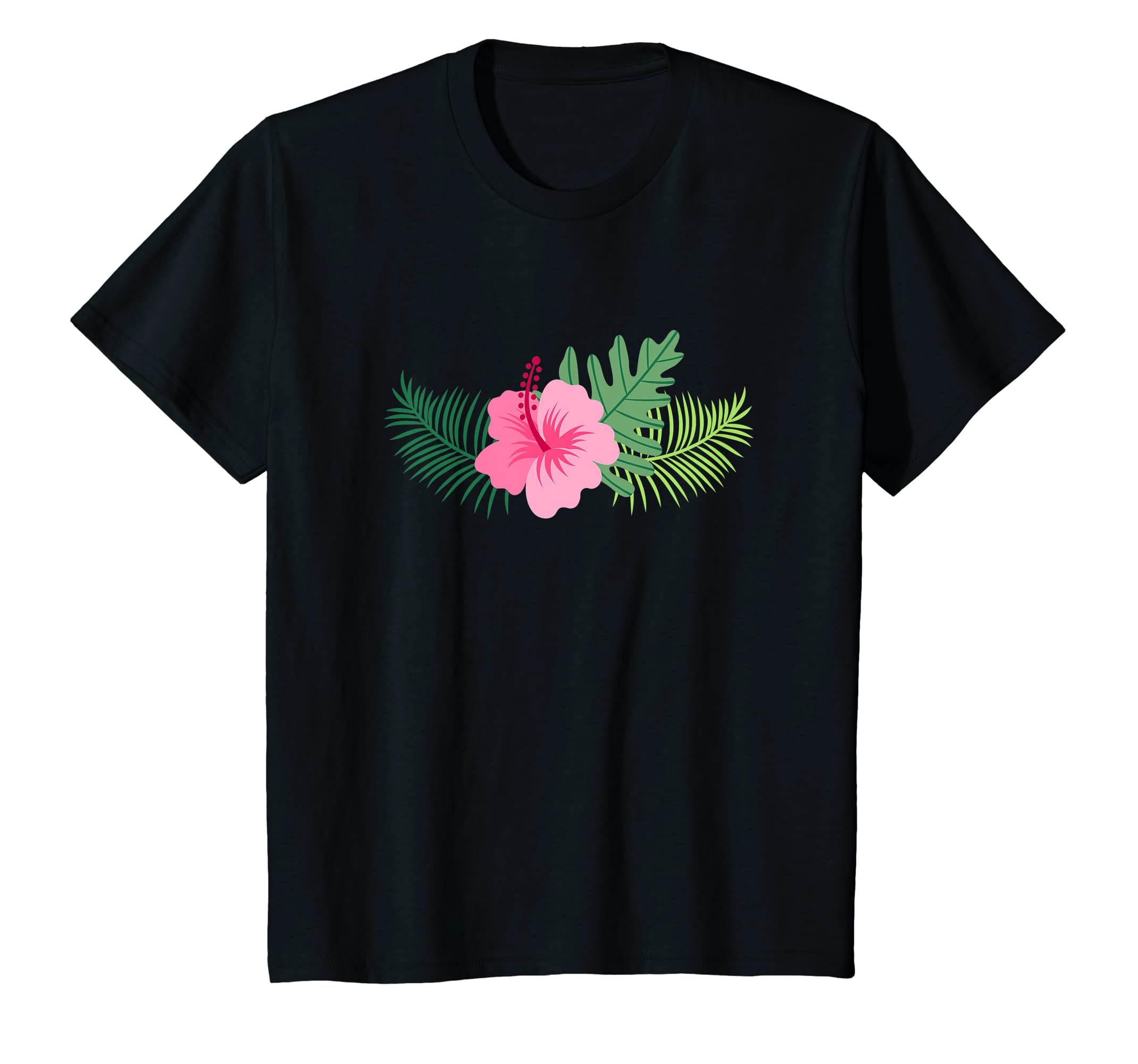 Amazoncom Pink Hibiscus Flower T Shirt Men Women And Kids Styles